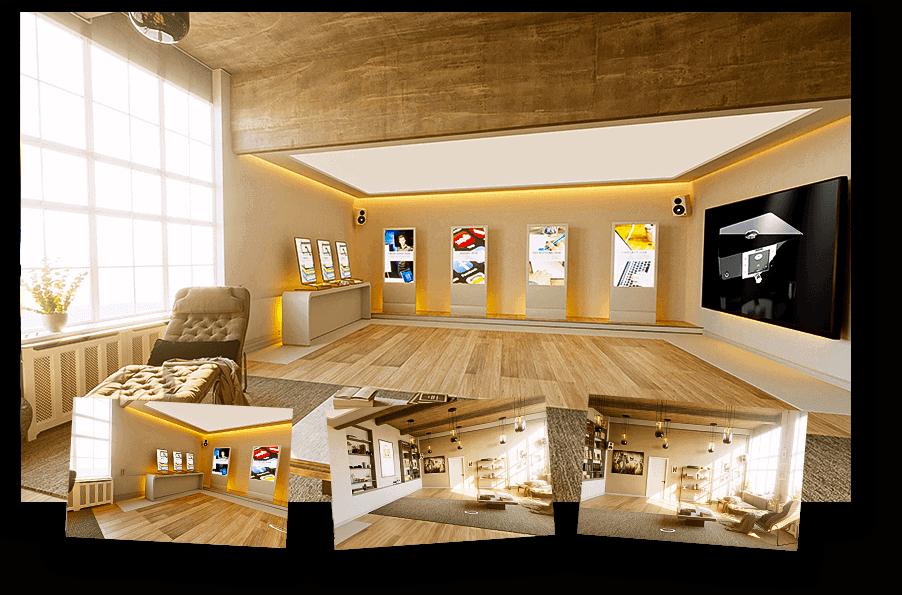 virtuelle Welten und 360 Grad Visualisierungen von wylder
