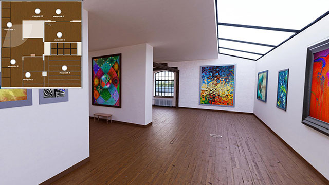 Beispiele für Online-Galerien & Ausstellung by wylder