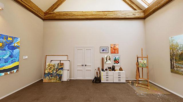 Beispiel für kleine Online Galerie oder Ausstellung by wylder