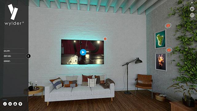 Online-Galerien mit Video Einbindung by wylder