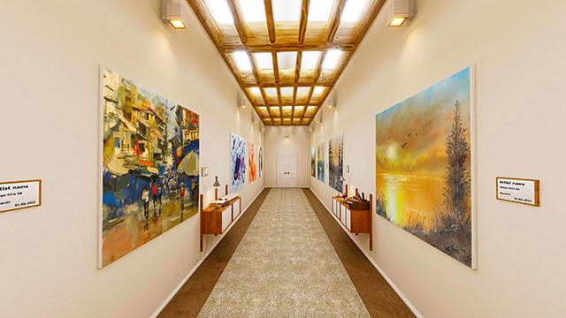 Beispiel für Online-Galerie Flur Verbindung by wylder